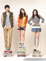 Lee Min Ki, Kara для UNIONBAY Spring 2013 Ads