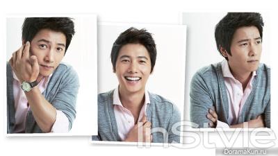 Lee Sang Woo для InStyle October 2012