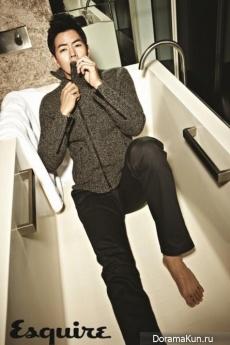 Lee Sang Yoon для Esquire December 2012