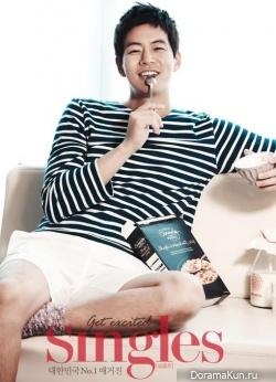 Lee Sang Yoon для Singles December 2012