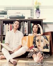 Lee Sun Gyun, Jung Yumi для Cine21 No. 920