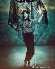 Lee Seon Kyun & Kim Min Hee для Vogue 2012