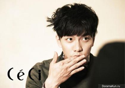 Lee Seung Gi для CeCi Korea October 2013 Extra