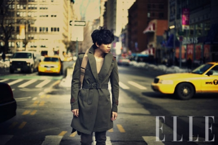 Lee Seung Gi для Elle Korea March 2011