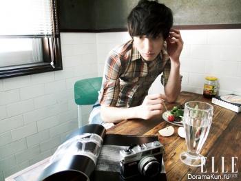 Lee Soo Hyuk для Elle