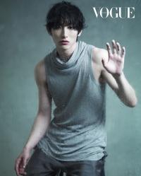 Lee Soo Hyuk для Vogue 2010