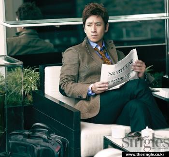 Lee Sun Gyun для Singles December 2011