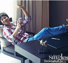 Lee Sun Gyun для Singles January 2013 Extra