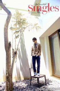 Lee Sun Gyun для Singles January 2013