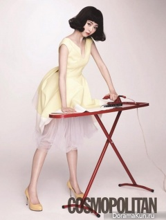 Lee Yeon Hee для Cosmo Beauty February 2013