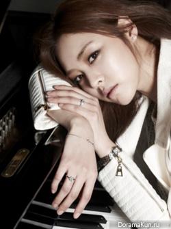 DBSK's Yunho, Lee Yeon Hee для Cosmopolitan Korea February 2012
