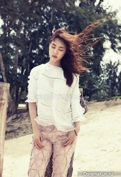 Lee Yeon Hee для Harper's Bazaar April 2014