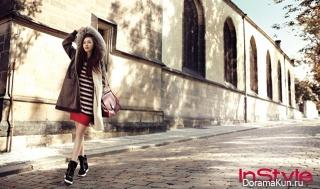 Lee Yeon Hee для InStyle October 2012