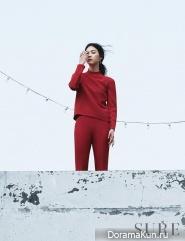 Lee Yeon Hee для SURE June 2014
