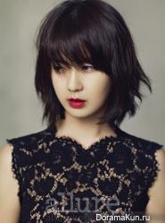 Lee Yo Won для Allure October 2012