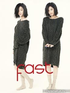 Lee Yoo Bi для Fast November 2012