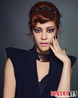 Lee Yoon Ji для Cosmopolitan Korea July 2012 Extra