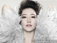 Lee Young Ae для Elle November 2012