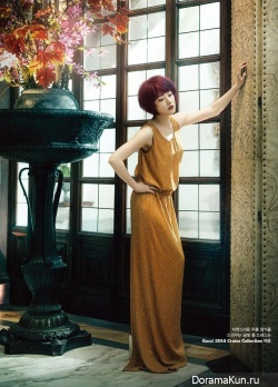 Lee Young Ae для W Korea November 2013