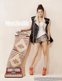 Lee Young Eun для Men's Health January 2013