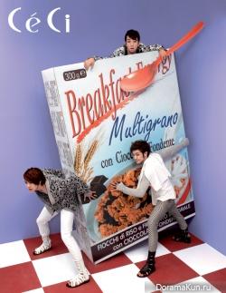 MBLAQ для CéCi August 2010