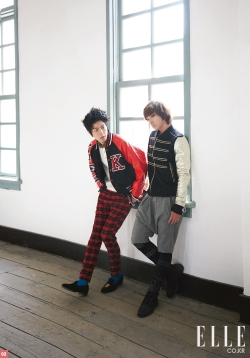 MBLAQ's Lee Joon, Hong Jong Hyun для Elle Korea December 2010