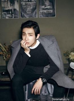 MBLAQ (Lee Joon) для Harper's Bazaar November 2013