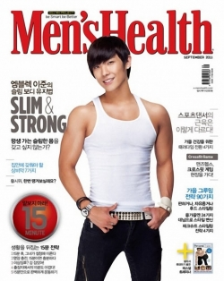 MBLAQ's Lee Joon для Men's Health