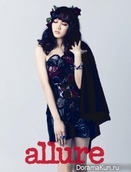 Jia, Suzy для Allure December 2012
