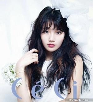 Suzy (Miss A) для CeCi April 2013