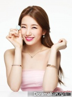 Suzy (Miss A) для Cosmopolitan Korea February 2014