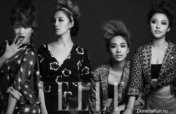 Miss A для Elle Korea October 2012