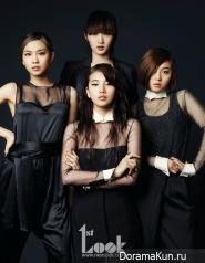 Miss A для First Look November 2012