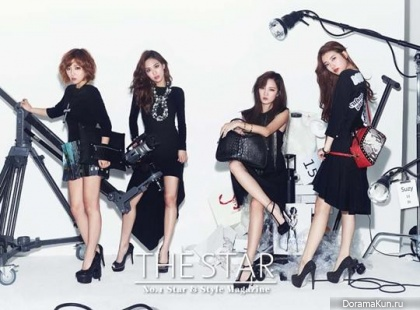Miss A для The Star Korea October 2013