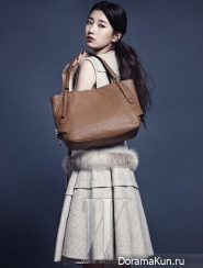 Suzy (Miss A) для W Korea December 2013 Extra