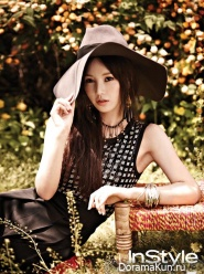 Jung Kyung Ho, Nam Gyu Ri для InStyle June 2013