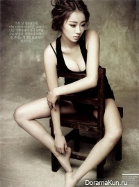 Nine Muses (Kyung Ri) для Arena Homme Plus February 2014