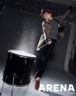 No Min Woo для Arena Homme Plus Korea September 2011