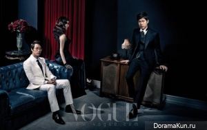 Oh Man Suk и др. для Vogue January 2013