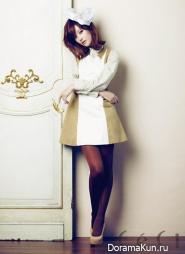 Oh Yeon Seo для CeCi December 2012