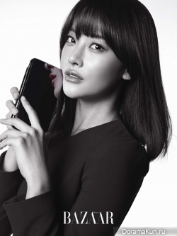 Oh Yeon Seo для Harper's Bazaar December 2012