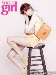 Oh Yeon Seo для Vogue Girl November 2012