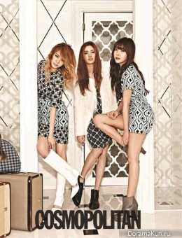 Orange Caramel для Cosmopolitan Korea August 2013