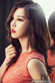 Park Eun Ji для BNT International April 2014