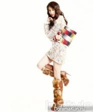 Park Ha Sun для InStyle January 2013