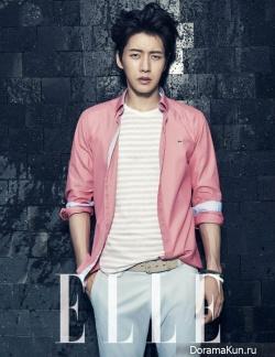 Park Hae Jin для Elle Korea May 2013