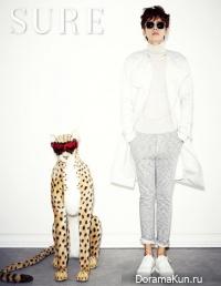 Park Hae Jin для SURE February 2014