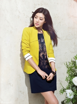 Park Han Byul для Bluepepe Spring 2012