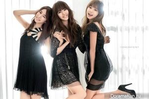 Yoon Eun Hye, Yoo In Na, Park Han Byul для Cine21 Magazine 2011