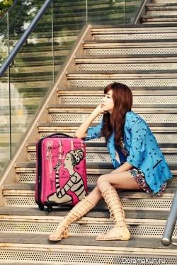 Park Han Byul для Elle 2011